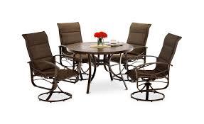 callaway iii 5 piece patio dining set furniture creations direct regarding proportions 1500 x 916
