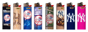 Bic Lighter Designs Buy New York Yankees Bic Lighters New 2017 Designs Mlb