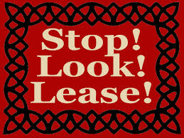 for lease sign template for lease templates