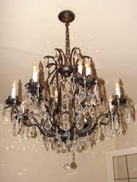 home design trendy design ideas oil rubbed bronze crystal chandelier quoizel trista 13 6