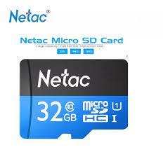 Thẻ Nhớ Netac 32Gb Class 10 Chuyên Camera Và Điện Thoại Dung Lượng Thật Class  10 80Mb/S - Bảo Hành 12 Tháng