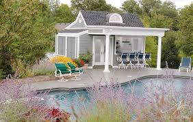 pool house.  Pool NantucketInspired Pool House In Mt Washington Ohio Intended