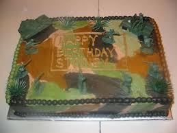 Little Boys Army Birthday Cake Cakecentralcom