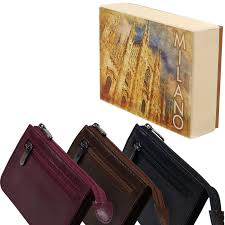details about mens las top quality leather coin purse golunski milano collection gift boxed