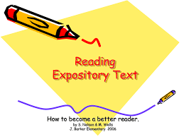 What Is Expository Text Expository Text In Reading