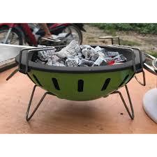 Bếp than sơn tĩnh điện nhỏ gọn tiện ích hút khói cực tốt