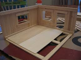 almost unschoolers basswood and popsicle stick doll house man of the house style