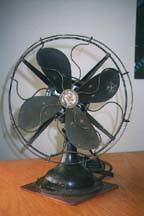 vintage fans and heaters robbins myers desk fan front