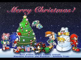 نتیجه تصویری برای sonic christmas