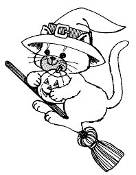 Small Picture Halloween Coloring Pages For Elementary learn languageme