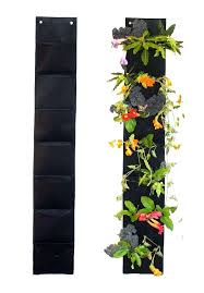 gifts for gardeners 7 pocket vertical garden hanging planter by ambitious walnut 5 ft long gifts for gardeners best