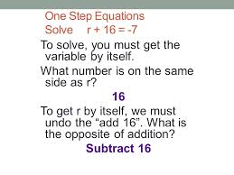 2 solving equations part 1 2 one step and two step equations resources henrico county schools algebra 1 virginia department of education