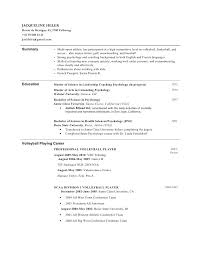 College Baseball Resume intended for Baseball Resume For College