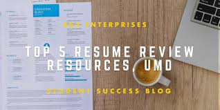 Resume Review TOP 100 RESUME REVIEW RESOURCES At University Of Maryland 38