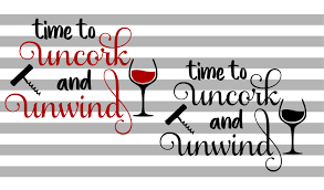 Free transparent dog vectors and icons in svg format. Time To Uncork And Unwind Graphic By Hayley Dockery Creative Fabrica