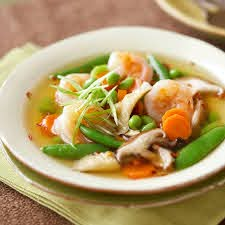 Asian Shrimp and Vegetable Soup Recipe ...