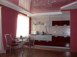 Red Tile Paint For Kitchens Maroon Kitchen Cabinet Awesome Ideas