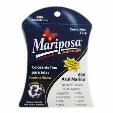 Colorante Para Telas Mariposa 602 Azul Marino 32 G Walmart Colorante Azul L