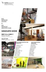 Interior Design Graduate Programs Enchanting BFA Interior Design MA Interior Architecture Graduate Show Then