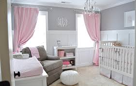 Nursery Bedroom Avas Sweet Gray And Pink Nursery Project Nursery