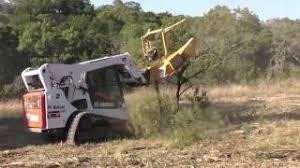 forestry cutter skid steer mulcher