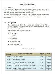 design statement of work free 13 statement of work templates in google docs ms