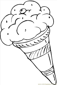 Small Picture Dessert coloring pages to download and print for free