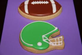 Football And Helmet Cookies Gracie Lous Treats In 2019