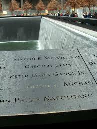 national 11 memorial museum south pool at night panel s 17 showing the of peter j ganci jr