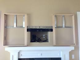 mirrors two way mirror tv frame diy tvcoverups mirror tv hide my tv two way