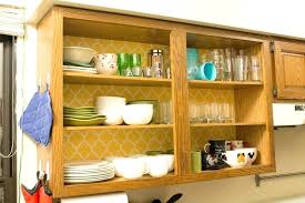 small kitchen cabinets storage and organization ideas for your kitchen remove cabinet doors and wallpaper inside to make your kitchen feel small kitchen
