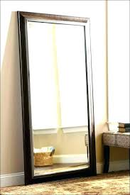 wall mirrors full length wall mirror light up mirrors stand blue frameless mounted m