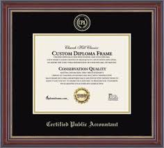 professional certificate and license frames church hill classics