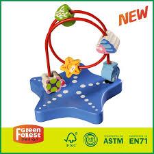 wooden bead maze table bead roller coaster toy ikea bead roller coaster