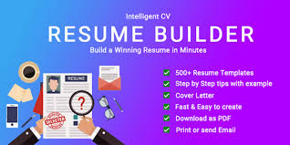 App Resume Resume Builder Cv Maker App Free Cv Templates 2019 For