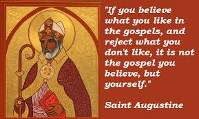 St Augustine Of Hippo Quotes Impressive FEAST OF ST AUGUSTINE OF HIPPO [4848] BISHOP AND DOCTOR OF THE