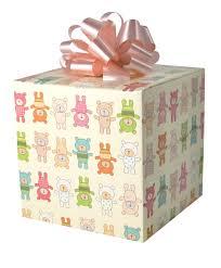 teddy tumble gift wrap