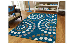 contemporary circle rugs bold color dining area rugs 8x11 bright teen