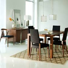 small dining room. Fancy Small Dining Room Decorating Design Ideas : Fantastic Decoration With Rectangular Dark