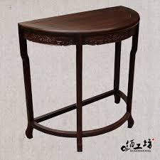 get ations half round table mahogany furniture chinese classical porch wood shelving racks telephone table coffee table corner