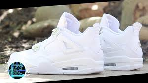 jordan 4 retro. air jordan 4 retro \u0027pure money\u0027 | detailed look and review