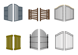 open doors outdoors furniture gate entrance svg png icon free