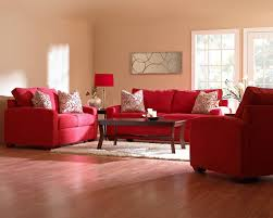 beautiful red living room furniture decorating ideas red fabric arms sofa sets brown lacquered wood simple