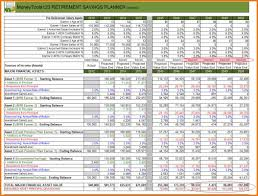 excel retirement spreadsheet retirement budget spreadsheet excel onlyagame
