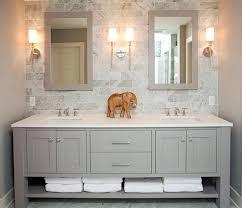double sink vanity with storage tower. vanities: double sink vanity with storage tower refined llc exquisite bathroom freestanding gray