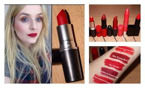 red lipsticks by kate mccormack