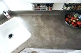 post diy white concrete countertops over laminate