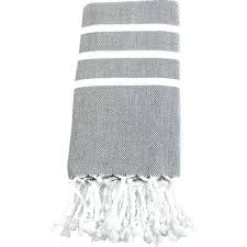 gray hand towels grey kitchen