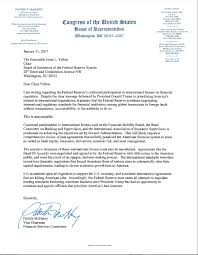 dodd frank letter gop congressman sent to janet yellen fortune  the full cease and desist letter a senior congressman just sent to janet yellen