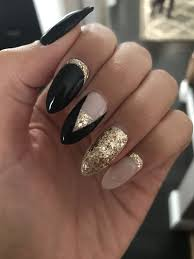 Almond Shaped Nail Designs Pin On Hair And Makeup